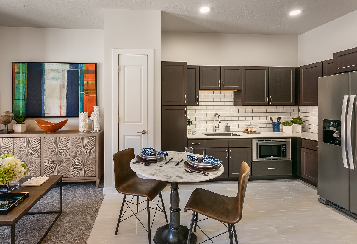 Assisted living model apartment.
