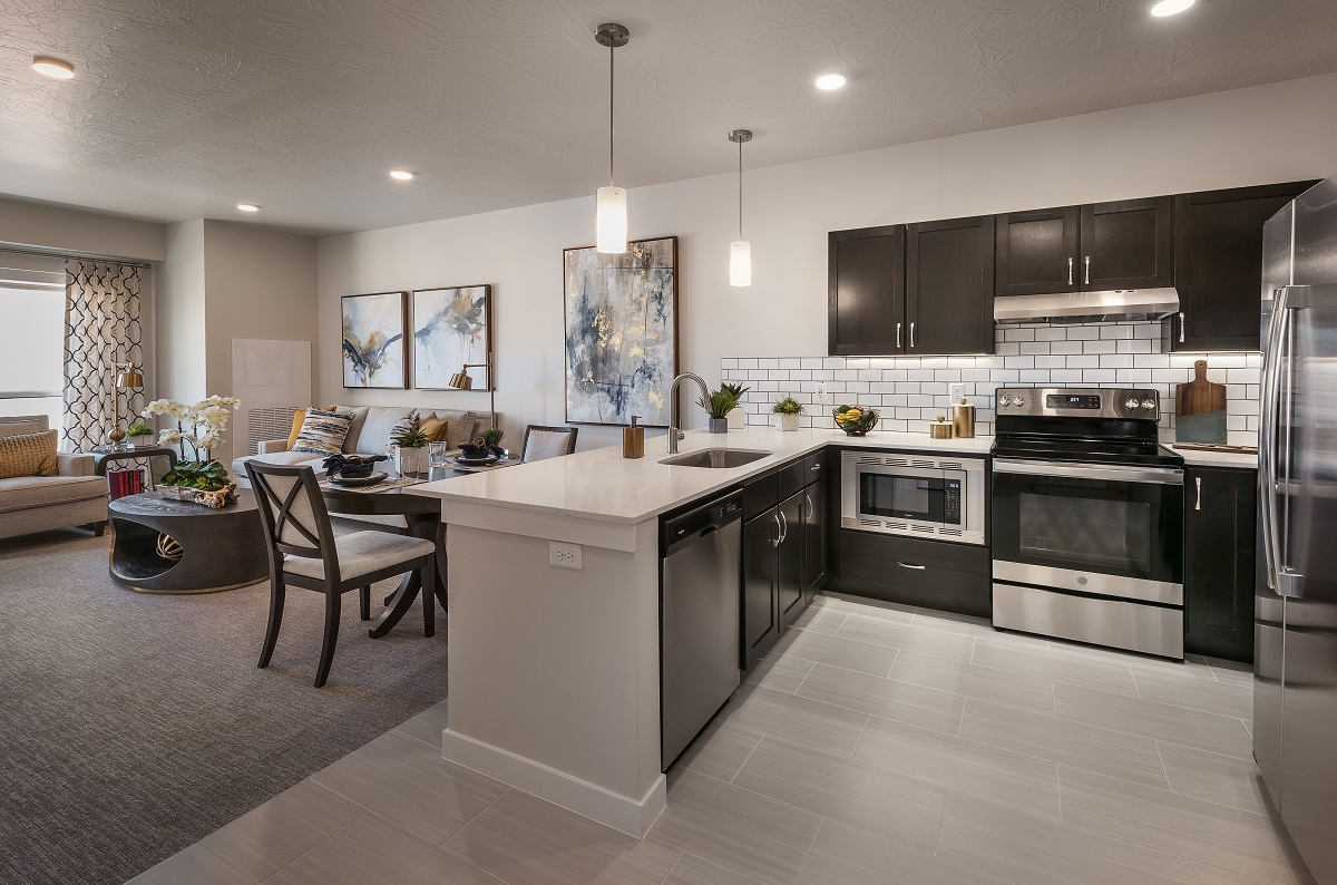 Model 339 with one bedroom and kitchen.