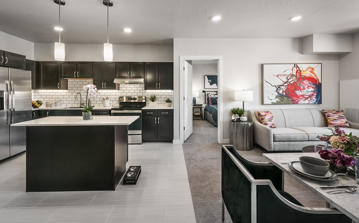 Model 341 with 2 bedrooms and livingroom.