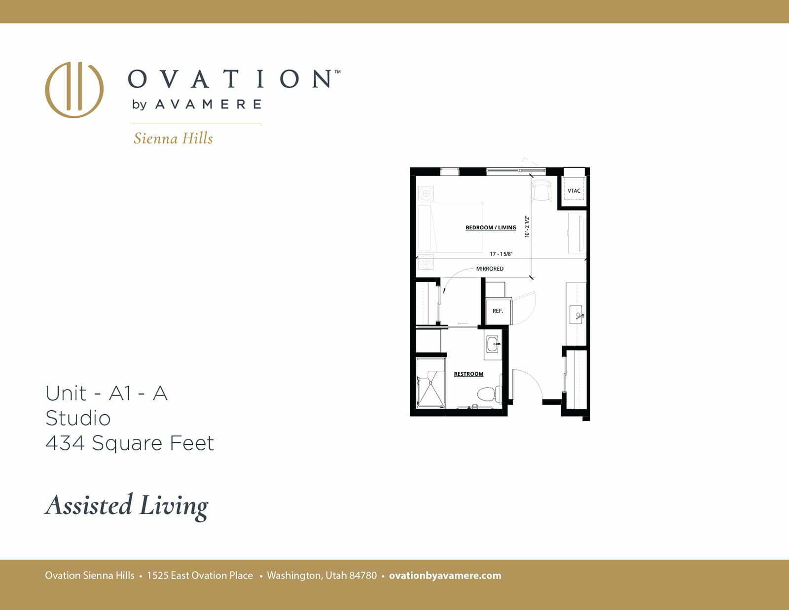 Assisted Living | Room A1 - A